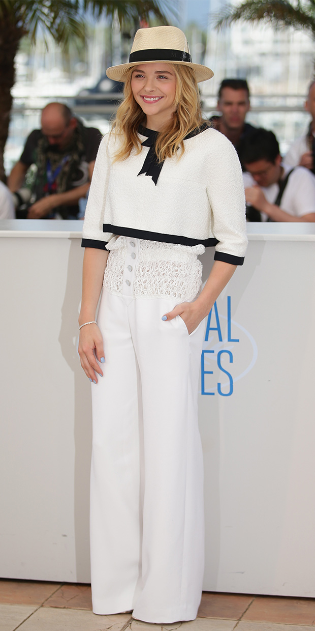 Love the look: Chloe Grace Moretz